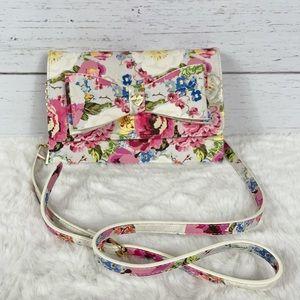 Betsey Johnson Floral Xodani Crossbody Wallet Bag